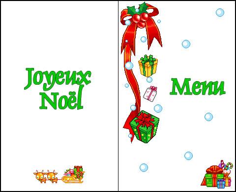 Menus De Noel